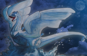 Lugia Tribute by Aspendragon
