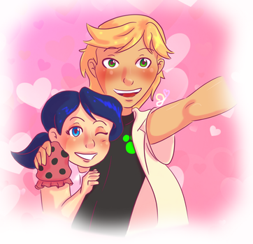 Adrinette Valentine's Day by Cat-Of-Energy