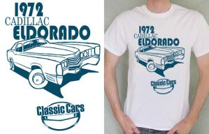 Classic cars T shirt by TomVeary