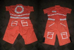 Portal Chell Outfit by vervv