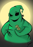 Oogie Boogie final by sammieSkeleton