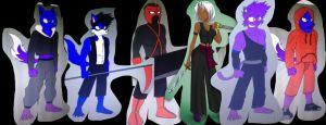 The Reapers (villains) by kdrj4402
