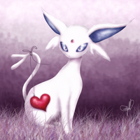 Espeon's heart by TanisGrenade