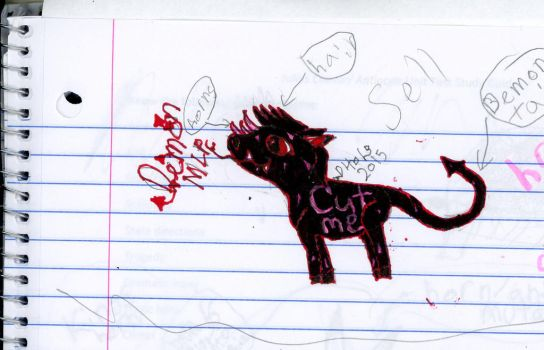 Demon Mlp (Taken) by Demons4Life2015