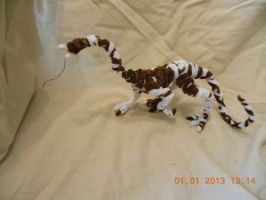 Pipecleaner Dragon by psycholiger13