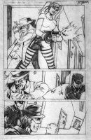 Green Hornet pg.5 by afromation