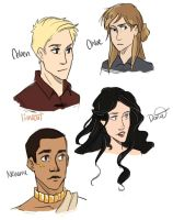Genderbent Throne of Glass by compoundbreadd