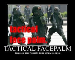 Tactical Facepalm by Ghost1334652
