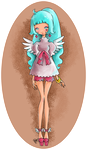 Miss Cupid Colored by YamPuff