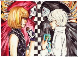 Mello and Near by Rabbit-Edge