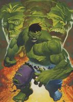 Hulk transforms oils by ChristopherStevens