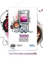 Nokia Music Campaing N91 by Kaiodesign