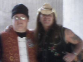 Youmacon 2012: Me and Scott McNeil by BigAl2k6
