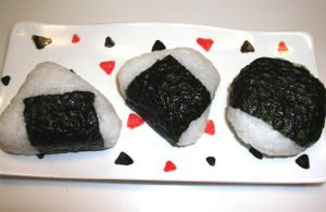 Onigiri  a.k.a.  Rice Balls by AgnesPterry