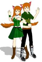 Nickey and Nick by KingdomHeartsNickey