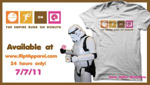 The Empire Runs on Donuts by khallion