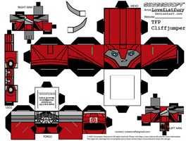 PRIME Cliffjumper Cubee by lovefistfury