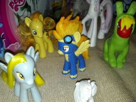 MLPFIM Spitfire custom + other customs by davisaroflmao