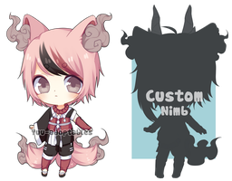 CLOSED Nimb # 17 + Custom Nimb slot AUCTION by Yuu-adoptables