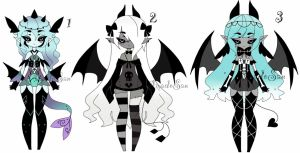 monster girl adoptables CLOSED by AS-Adoptables