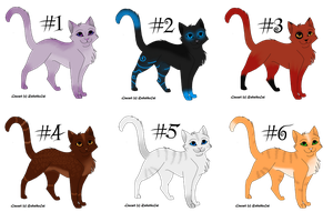 Point Adoptables- Cats CLOSED by AnOtherSunrise