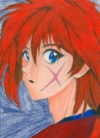 Kenshin Prismacolor by Poofiemus