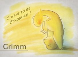 Want to be stronger ! by Liokora