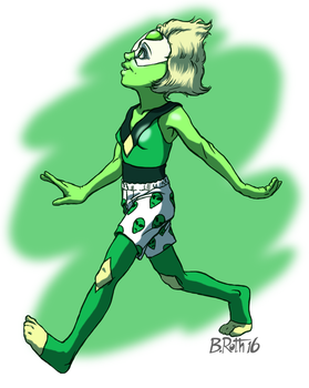 Peridot in Boxers by Quickman012