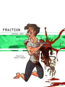 Fraction_Original Comic Cover Art by CharlieGrins