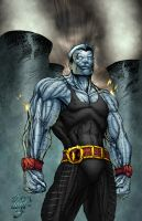 Colossus Colored by DontBornInInk