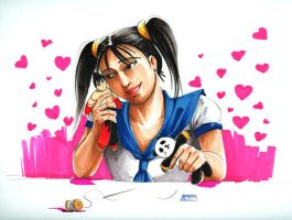 Xiaoyu In Love by aellise