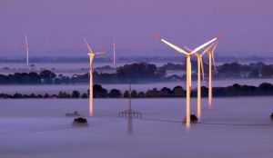Fog and Windmills by sandor99