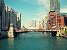 Chicago River by AkatsukiGirl27