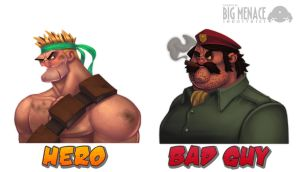 iPhone Game Character Designs by Zatransis