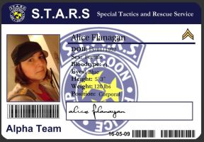 STARS ID Card by Codename-Alice