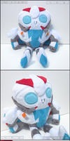 Transformers Prime Smokescreen Plush by Mazzlebee