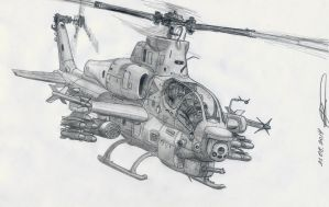 AH-1Z Viper by GrafDeWolfGuN