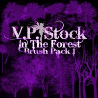 In The Forest Brush Pack 1 by VP-Stock