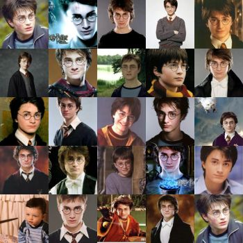 Collage Harry Potter by anniehermypotter
