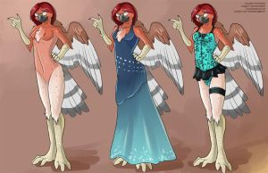 [Clothing Design Commission]  ParryKeet by Ulario