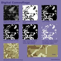 Digital Camouflage Tutorial by Kennethy512