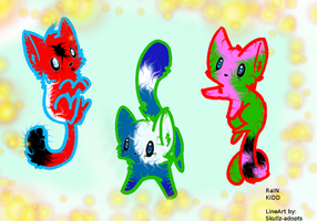 free kitteh adoptables-ALL TAKEN by IcySkiies