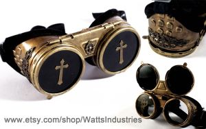 Brass Goggles by Watts-Industries