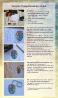 Tutorial: Make your personal key chain by Leundra