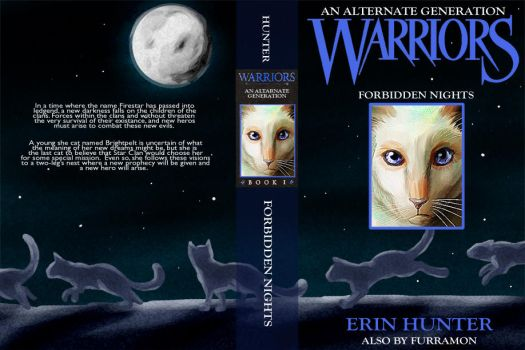 Warrior's Book Cover by Furramon