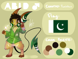 Abid the...Pakistani Raichu? by Vanilliana
