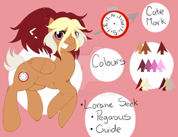 Loraine Seek Updated Reference by quila111