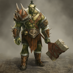 Orc Boss Enemy by BABAGANOOSH99
