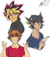 The Hippest Protags *colored* by Cathotel