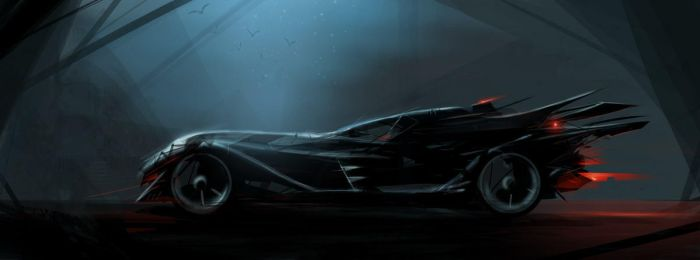 Batmobile by sketchboook